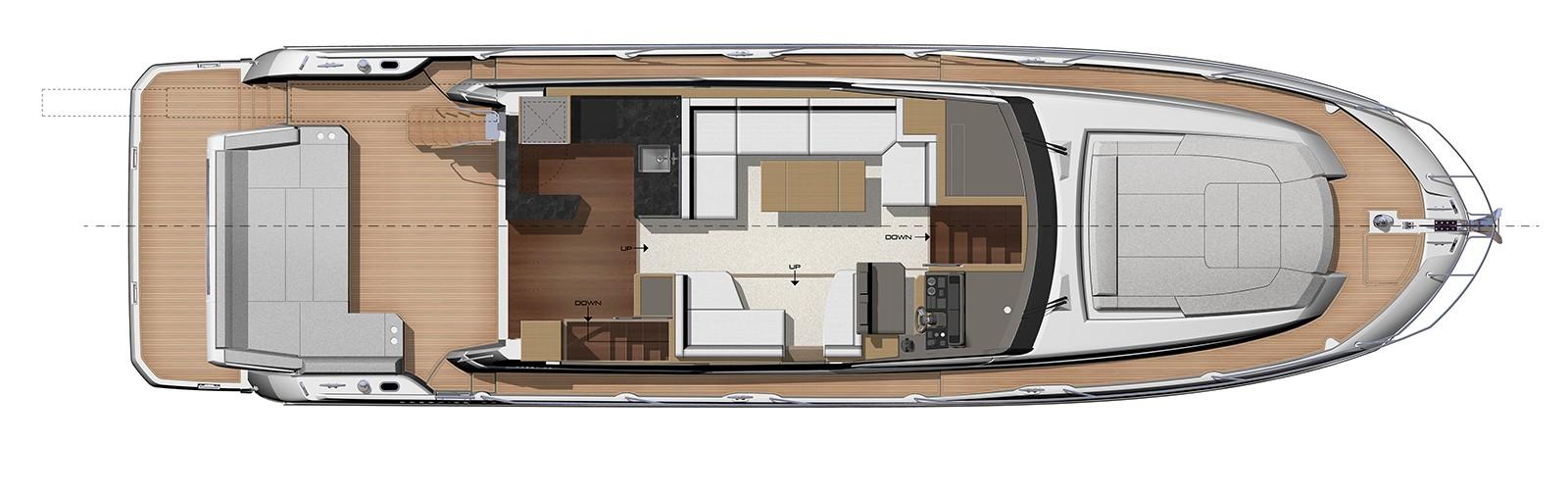 PRESTIGE-590---Main-Deck---Relax-cockpit-