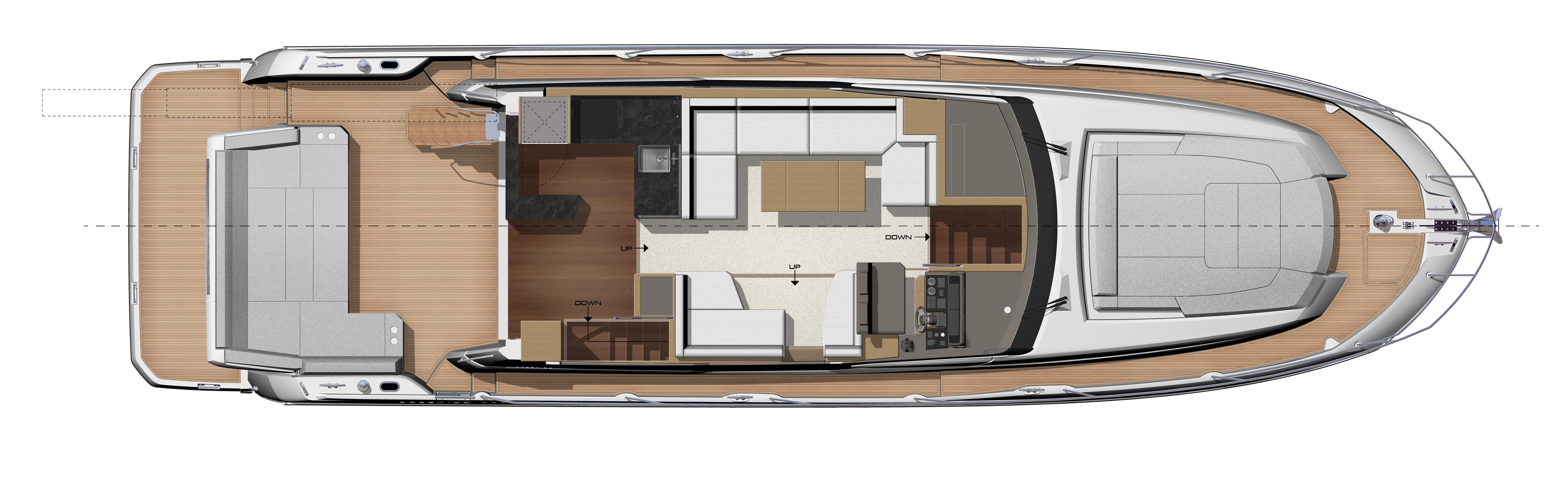 PRESTIGE-590S---Main-Deck---Relax-cockpit-